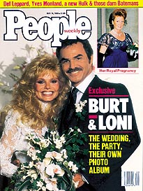 Burt & Loni's Wedding Album