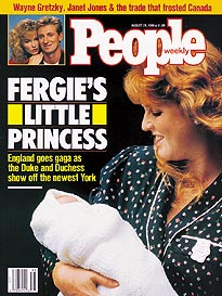 For Fergie, Mum's the Word