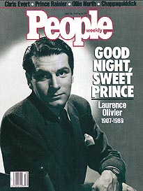 Laurence Olivier Dies: 'The Rest Is Silence'