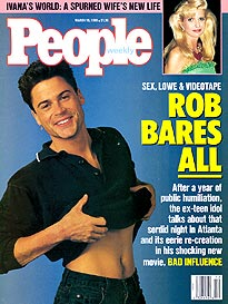 Rob Lowe's Tale of the Tape