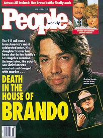 Brando's Son Faces Murder Charge