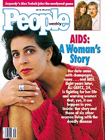 One Woman's Brave Battle with AIDS