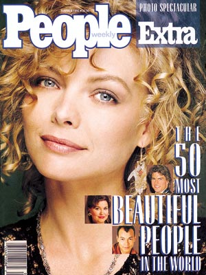 photo | Michelle Pfeiffer Cover, Most Beautiful on Covers, Jane Pauley, Michelle Pfeiffer, Roland Gift, Tom Cruise