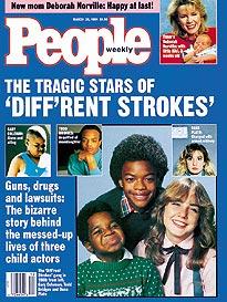 Diff'rent Strokes, Fallen Stars