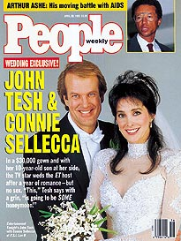 Connie Sellecca wedding pictures