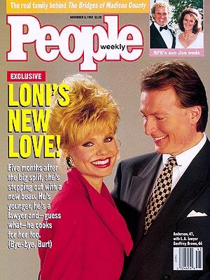 photo | Loni Anderson Cover, Joseph Patrick Kennedy, Loni Anderson