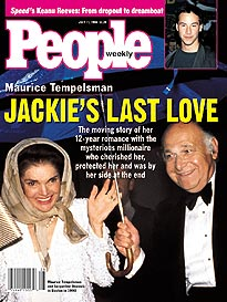 Jacqueline kennedy onassis at long last found a safe haven and