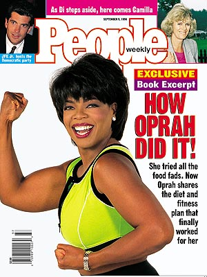 photo | Diet & Fitness, Celebrity Weight Loss, Oprah Winfrey Cover, Camilla Parker Bowles, John F. Kennedy Jr., Oprah Winfrey