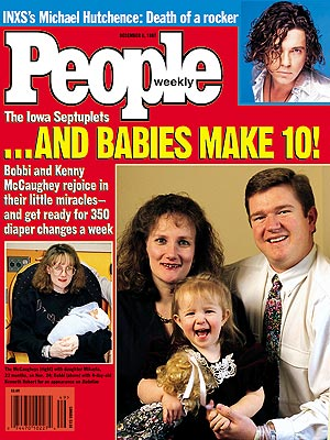 photo | Kids & Family Life, Miracle Babies, Gripping News Stories, McCaugheys Cover, Real People Stories