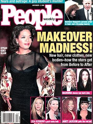 photo | Makeovers, Oprah Winfrey Cover, Janet Jackson, Lisa Kudrow, Madonna, Matthew Shepard, Oprah Winfrey
