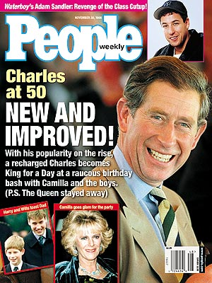 photo | Prince Charles Cover, The British Royals, Adam Sandler, Camilla Parker Bowles, Prince Charles, Prince Harry, Prince William