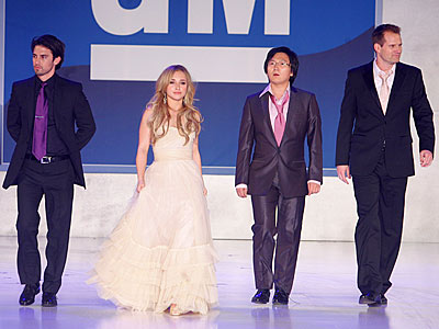 WALKING THE WALK photo | Hayden Panettiere, Jack Coleman, Masi Oka, Milo Ventimiglia