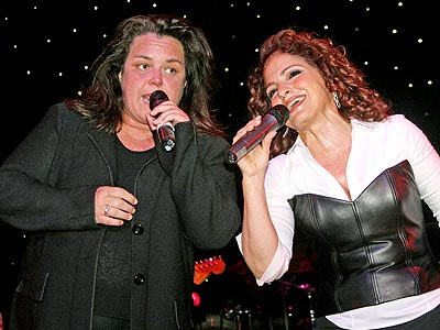 CRUISING ALONG photo | Gloria Estefan, Rosie O'Donnell