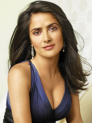 Salma Hayek Sexy Wallpaper