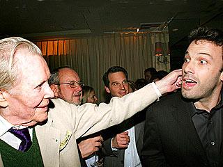Caught in the Act: The Pre-Oscar Parties! | Ben Affleck