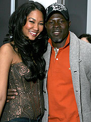 Kimora Lee Simmons, Djimon Hounsou Have a Boy