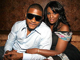 Usher couple