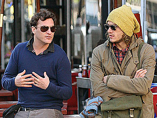 Heath Ledger & Joaquin Phoenix Share a New York Minute | Heath Ledger, Joaquin Phoenix