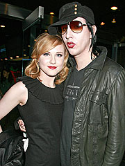 Evan Rachel Wood & Marilyn Manson's Matching Tattoos | Marilyn Manson