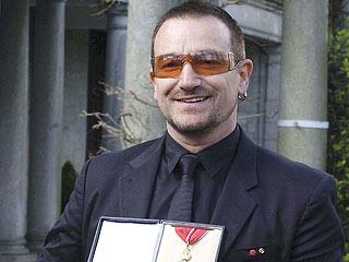Bono Made Knight of the British Empire   Bono