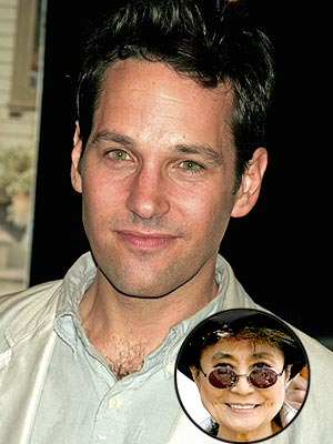 photo | Paul Rudd, Yoko Ono