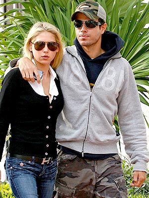 photo | Anna Kournikova, Enrique Iglesias