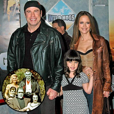 photo | John Travolta, Kelly Preston