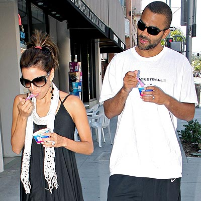 photo | Eva Longoria, Tony Parker