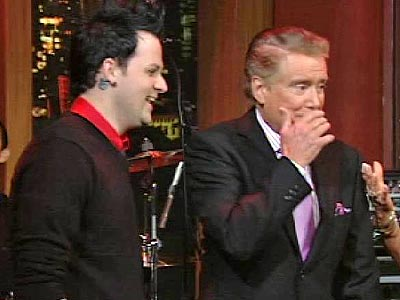 photo | Joel Madden, Regis Philbin