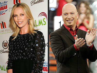 photo | Charlize Theron, Howie Mandel