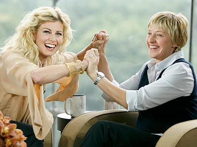 photo | Ellen DeGeneres, Faith Hill