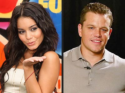 photo | Matt Damon, Vanessa Hudgens
