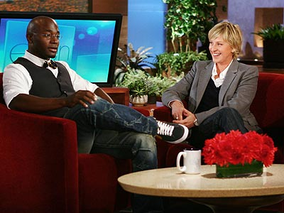  photo | Ellen DeGeneres, Taye Diggs