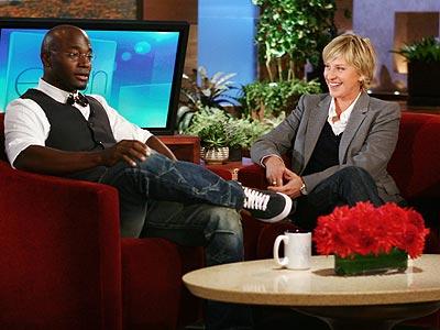 photo | Ellen DeGeneres, Taye Diggs