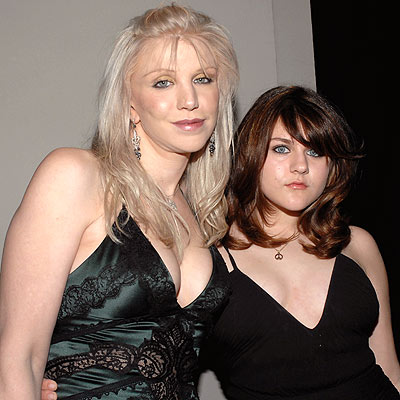 photo | Courtney Love, Frances Bean Cobain