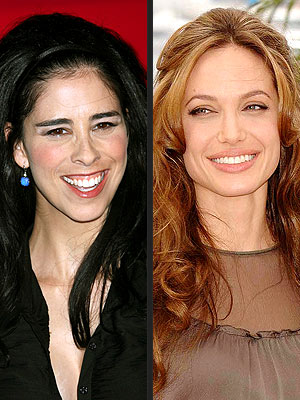 photo | Angelina Jolie, Sarah Silverman