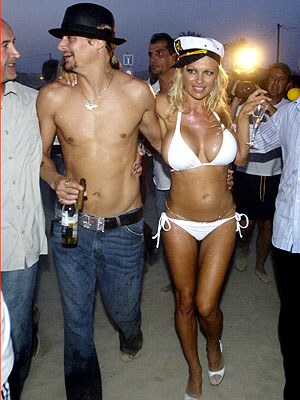photo | Kid Rock, Pamela Anderson
