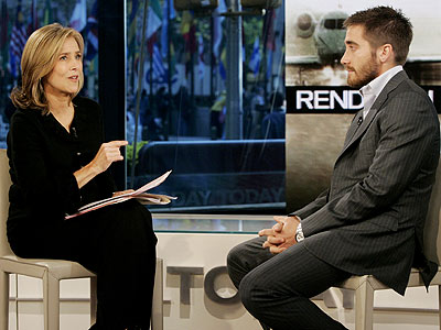 photo | Jake Gyllenhaal, Meredith Vieira