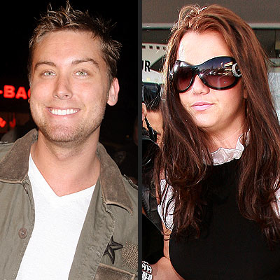 photo | Britney Spears, Lance Bass