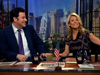 photo | Jimmy Kimmel, Kelly Ripa