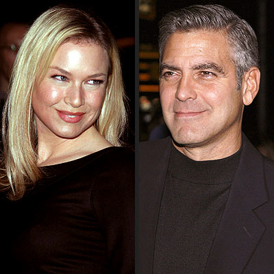 photo | George Clooney, Renee Zellweger