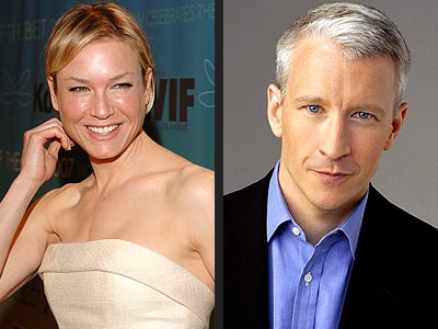 photo | Anderson Cooper, Renee Zellweger