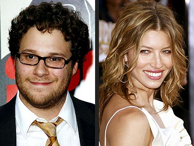  photo | Jessica Biel, Seth Rogen