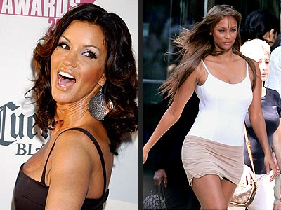 Tyra Banks Janice Dickinson