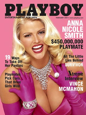 PLAYBOY: FEB. 2001 photo | Anna Nicole Smith