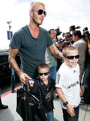 THREE SHADES OF COOL photo | David Beckham