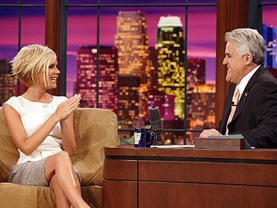 POSH IN THE SPOTLIGHT photo | Jay Leno, Victoria Beckham