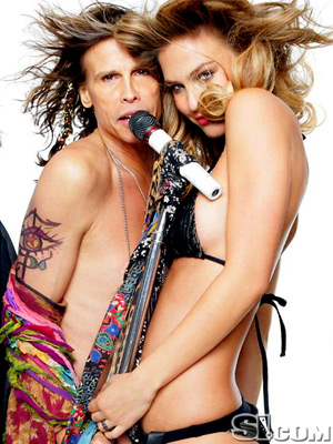 STEVEN TYLER & BAR REFAELI  photo | Steven Tyler