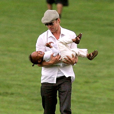PICK-UP ARTIST photo | Brad Pitt, Zahara Jolie-Pitt