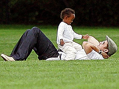 HOP ON POP photo | Brad Pitt, Zahara Jolie-Pitt